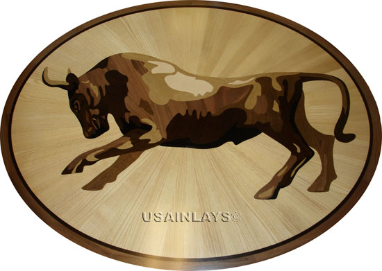 Nautical Wood Medallion by USA Inlays