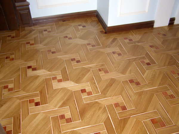 Floor Medallion Example Inlays Parquet