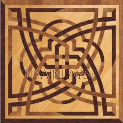 Inlays Hardwood Floor Products Celtic Square Medallions