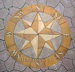 Compass-Pavers